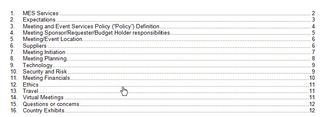 Policy - Meeting Policies Template