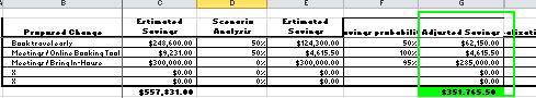 Policy - Estimated Savings Worksheet